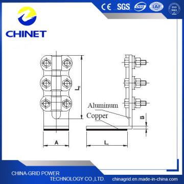 Slg-Q (D) Type Collier de transition pour cuivre et aluminium