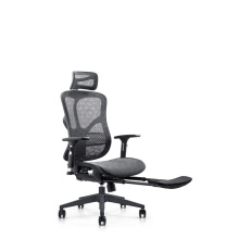 200kg office chair high back modern racing swivel mesh chair with footrest