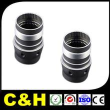 Präzisions-Schwarz POM ABS CNC-Bearbeitung Drehen für kundenspezifische Kunststoffteile