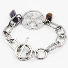 Bijoux bracelet en imitation en acier inoxydable pour cadeau