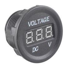 Waterproof 12V-24V Car Motorcycle Green LED DC Digital Display Voltmeter Meter