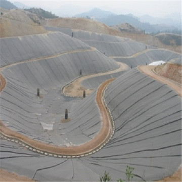 2 mm hdpe / PVC geomembrane lót