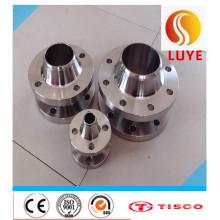 Flange de placa de aço inoxidável ASTM / AISI 316ti 316
