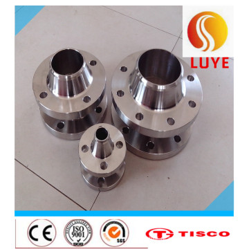 Flange de aço inoxidável da imprensa da tubulação de ASTM / AISI 316L