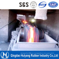 Correa transportadora de la resistencia térmica de alta temperatura para la central eléctrica de carbón