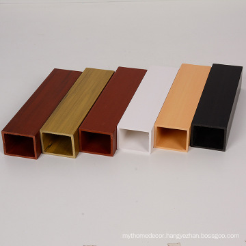 YUJIE hot sale 40x50mm WPC Timber Tubes from factory