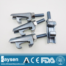 ISO Mild Steel Zinc Plated Double Claw Clamps