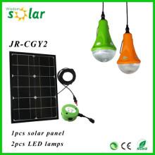 Inteligente mini decorativa solar suspensão pendente de luz para iluminação doméstica com 3 lâmpadas de LED Pingente