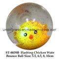 Flashing Chicken Wate Bounce Ball