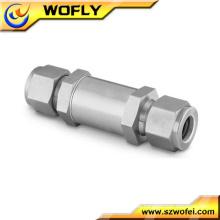 Edelstahl-Ferrule-Gas-Rohr-Filter
