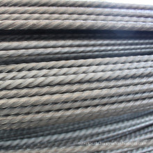 7,0 mm hochfeste Spiralrippen aus unlegiertem Stahl