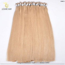 YBY Best Selling Products Pode Lavar Seco E Calor Slyle nano anel extensões de cabelo humano