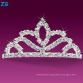 Elegante pentes de cristais franceses, pentes de casamento de cristal, pente barato cabelo personalizado