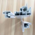 Profilé en PVC en plastique de style américain sans plomb