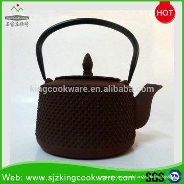 Bouilloire à thé en fonte antique