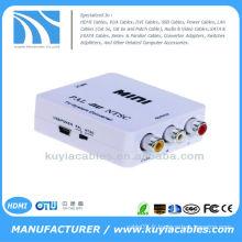PAL / NTSC / SECAM à PAL / NTSC Mini système de format bidirectionnel Adaptateur système