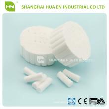DISPOSABLE DENTAL COTTON ROLL 1.0CMX3.8CM in China hergestellt
