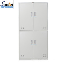 High quality good sale school furniture steel clothes almirah