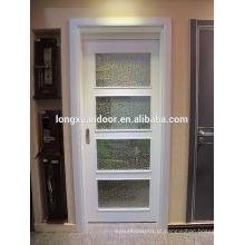 Porta deslizante de madeira, porta deslizante roda suspensa, porta de madeira deslizante