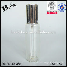 20/25/30/35ml empty mist spray tube perfume bottle,black empty perfume bottle,empty perfume bottle with cap