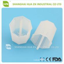 Dental disposable plastic tank filter trap of dental chair