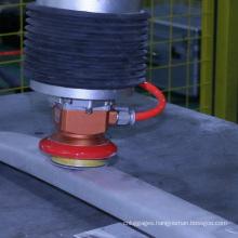 Active contact flange luggage rack grinding
