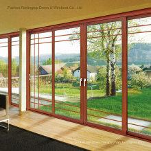Modern Aluminium Double Glazed Doors (FT-D80)