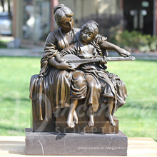 Mother and Child Bronze Statue BS096A