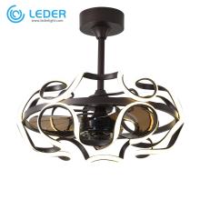 LEDER Beautiful Электрические потолочные вентиляторы