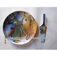 Santa picture alta calidad de impresión placas laterales de cerámica con el servidor