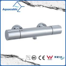 Bathroom Thermostatic Chromed Round Exposed Bar Mixer Shower Valve (AF7260-7)