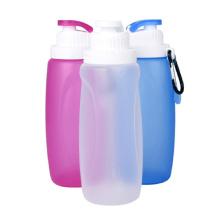 320ml Mini garrafa de água de silicone, garrafa de água dobrável de silicone, garrafa de água mágica