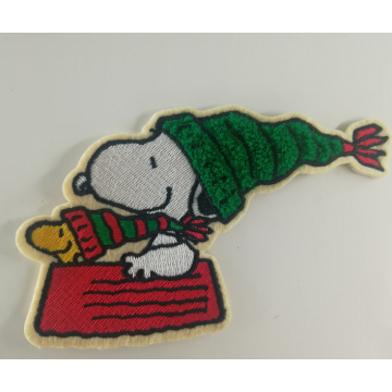 Disney Cartoon Snoopy Broderad Chenille Patch