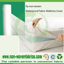 Spunbonded PP não tecido para capa de colchão