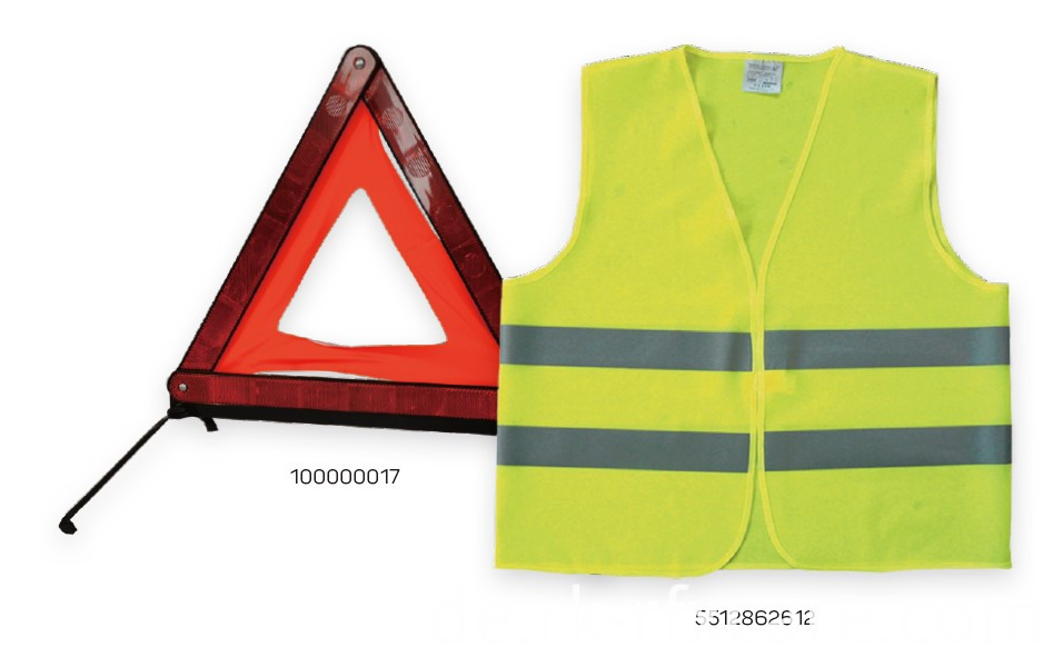 Safty Vest on the Road