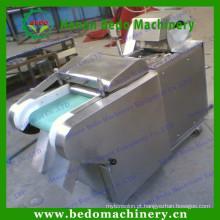 China fornecedor de aço inoxidável Frutas e vegetais fatiamento, corte de tiras e máquina de cubos 008613253417552