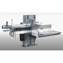 Descarga de máquina de papel para corte de papel