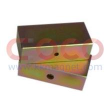 Aimants permanents bloc avec l'aimant magnétique & industriel fort