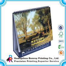 die cut 2013 design desk calendar/calendar to print in english