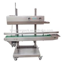 Aço inoxidável vertical máquina de selagem de calor de saco de plástico CBS-1100