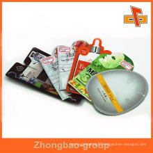 Customized free shape bag plastic packaging sachet for facial mask packaging