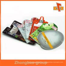 Sacola de embalagem de plástico personalizado sacola de embalagens de plástico para embalagem máscara facial