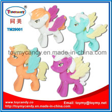 2016 Sales Promotion Lovely Mini DIY Assembly Plastic Horse Toy