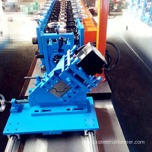 Profil GI Strip Omega Ceiling Roll Forming Machine