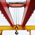 Grue électrique d'équipement lourd de poutre double pour l'usine