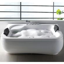 White Acrylic Luxury Corner Freestanding Soaking Bathtubs