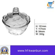 Diseño de vidrio Bowl con buen precio Cristal Kb-Hn0370