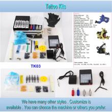 Kit pour la vente de tatouage série bon marché de Type pistolet tatouage 2/3/4