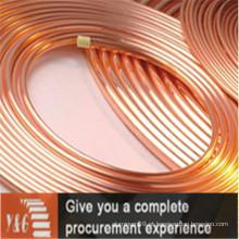 Tubos de cobre C13018 para aplicações industriais