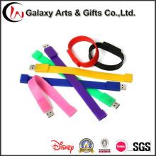 Новая мода силиконовые USB Браслет Спорт Браслет USB флэш-накопитель